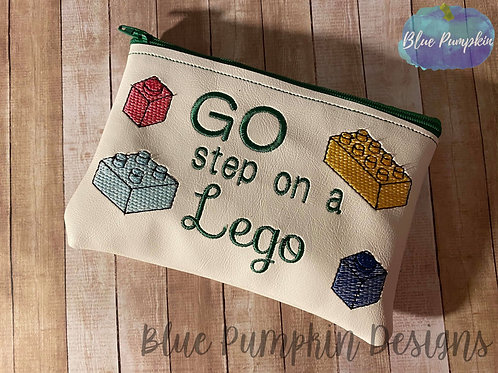Go Step on a Lego ITH Bag Design