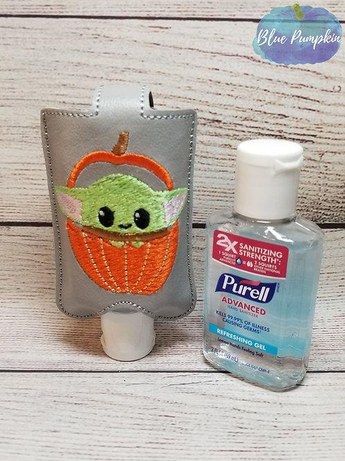 2oz Pumpkin Alien Sanitizer Holder