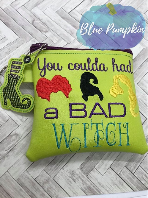 Bad Witch ITH Bag Design