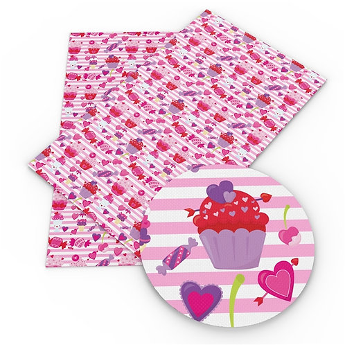 Pink Sweets Embroidery Vinyl