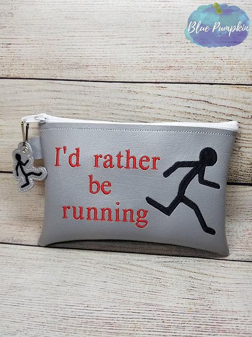 I'd Rather be Running TH Zipper Bag Design