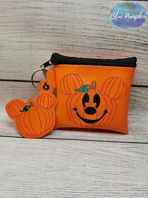 Pumpkin Mouse ITH Bag Design
