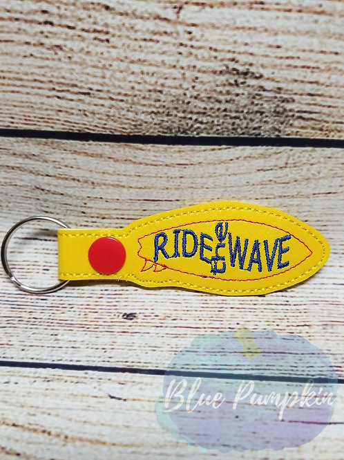 Ride the Wave Key Fob