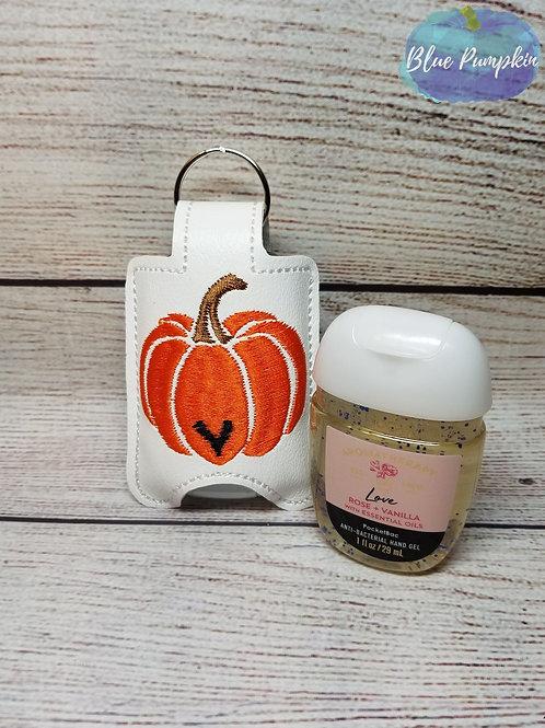 Pumpkin Heart Sanitizer Holder