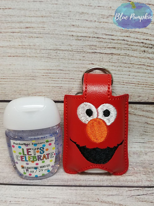 Red Monster Hand Sanitizer Holder