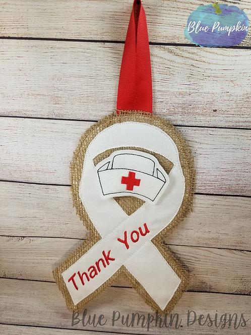 Awareness Ribbon Door Hanger with Extras