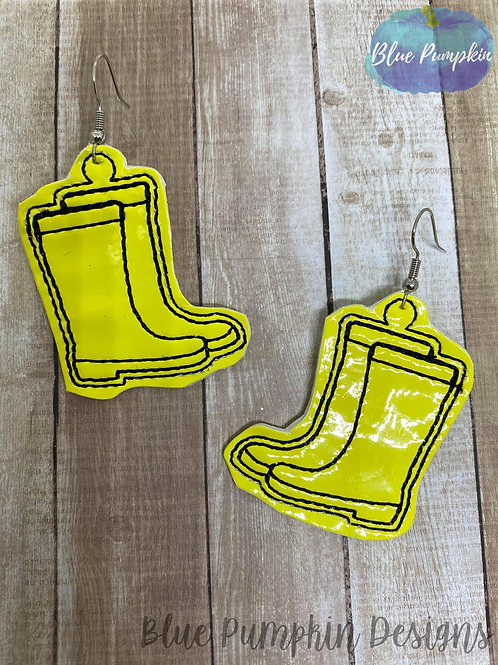 Rain Boots  Earrings