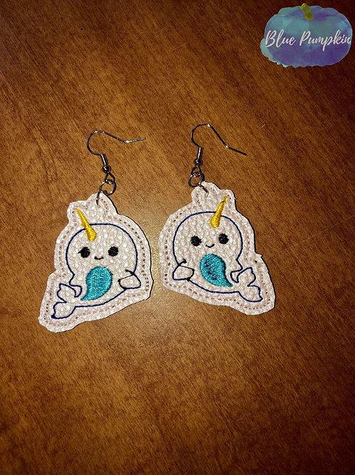 Narwhal Earrings