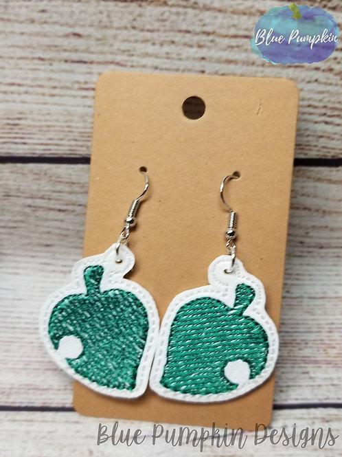 AC Leaf Earrings