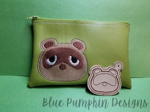 AC Raccoon  ITH Zipper Bag Design