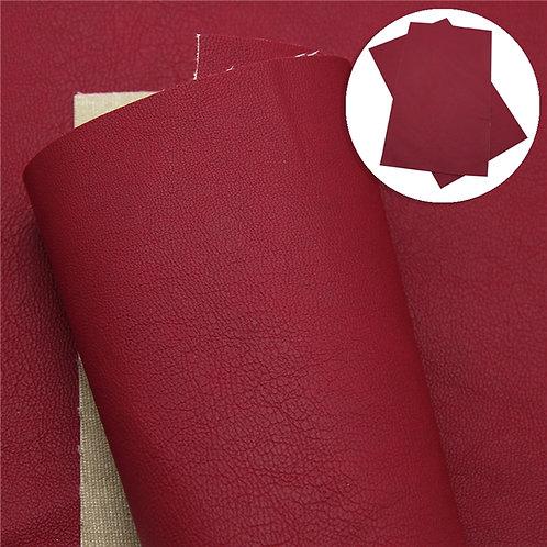 Mini Litchi Dark Red Embroidery Vinyl