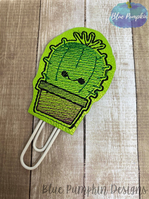 Cute Cactus  Paper Clip Toppers
