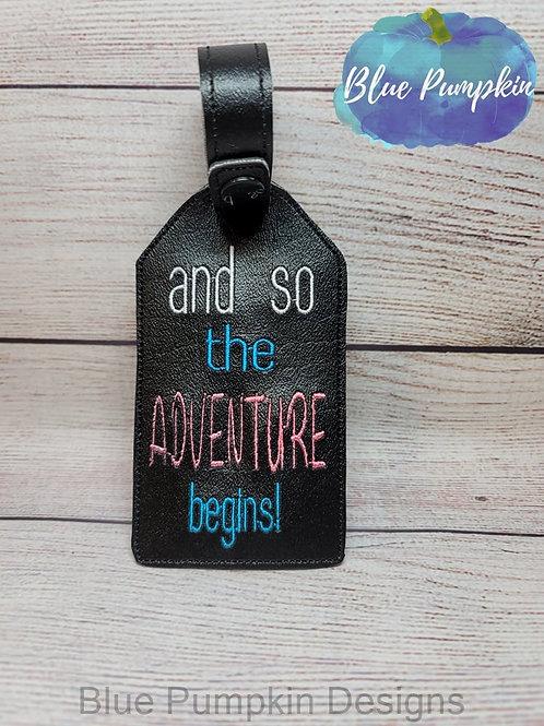 Adventure Luggage Tag