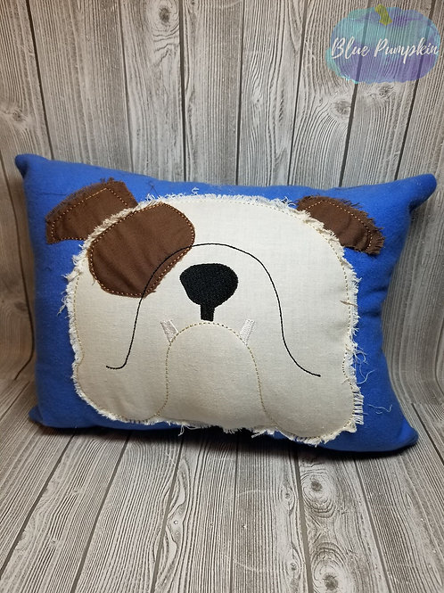 Bulldog Pillow 6x10