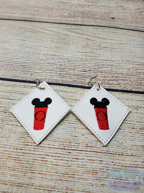 Mouse Cup Earrings
