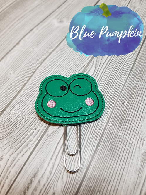 Frog Paper Clip Toppers