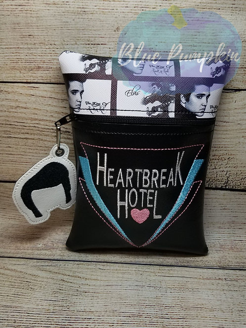 Heartbreak Hotel ITH Zipper Bag Design