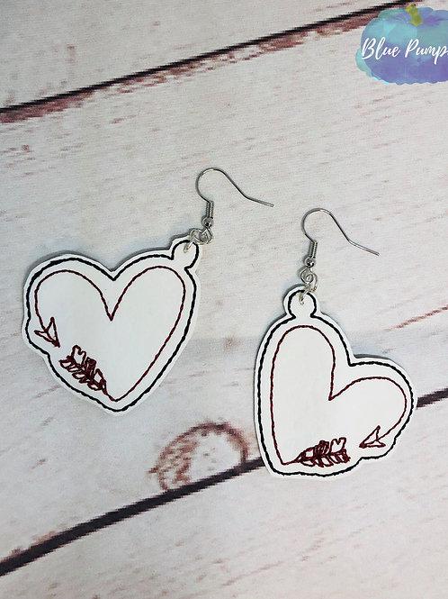 Heart Arrows Earrings