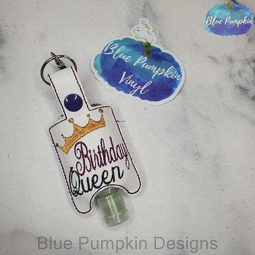 Birthday Queen 1oz Sani Bottle Holder