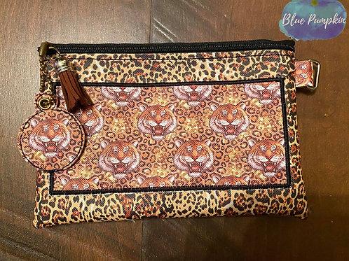 5x7 Middle Applique Zipper Bag Design