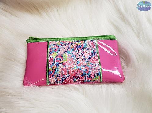 Pencil Scrap Buster Bag ITH Zipper Bag Design