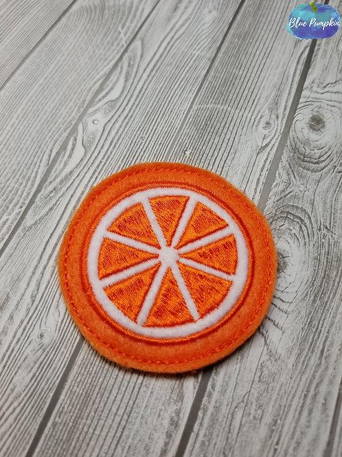 Orange Cross Section Felties
