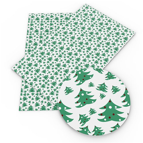 Cutie Little trees Embroidery Vinyl