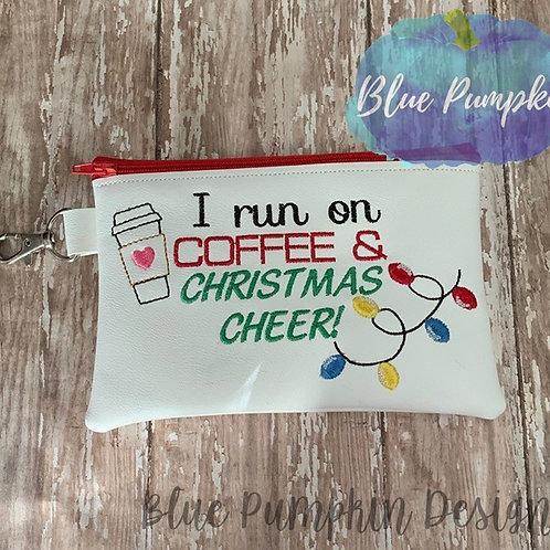 5x7 Coffee and Christmas Cheer  ITH Bag Design