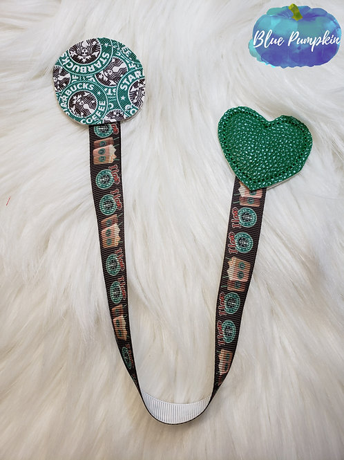 Circle and Heart Bookmark