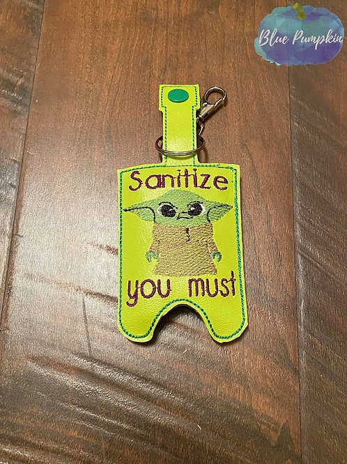 2oz Sanitize you Must Sanitizer Holder