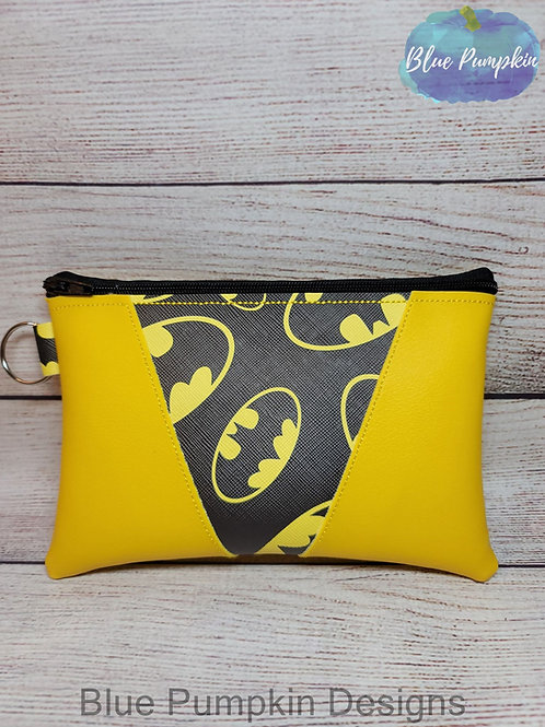 3 sizes 3 piece Applique Zipper Bag Design