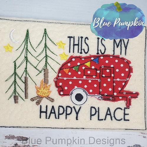 Camping Happy Place Mug/Snack Mat