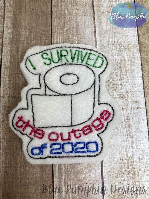 2020 Outage Toilet Paper Feltie