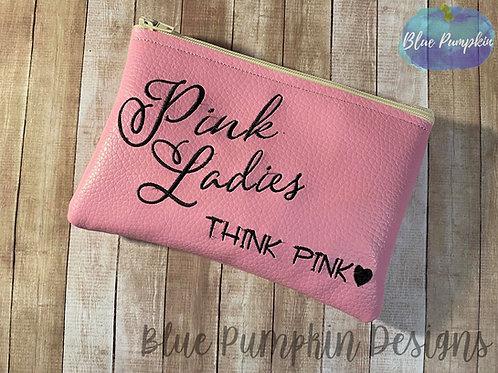 Pink Ladies 5x7 ITH Bag Design