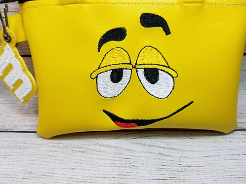 6x10 Yellow Candy ITH Zipper Bag Design