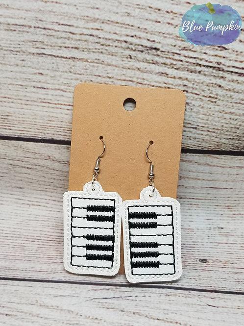 Piano Keys Earrings