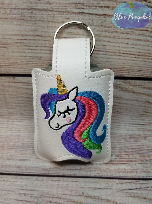 Flowy Unicorn Sanitizer Holder