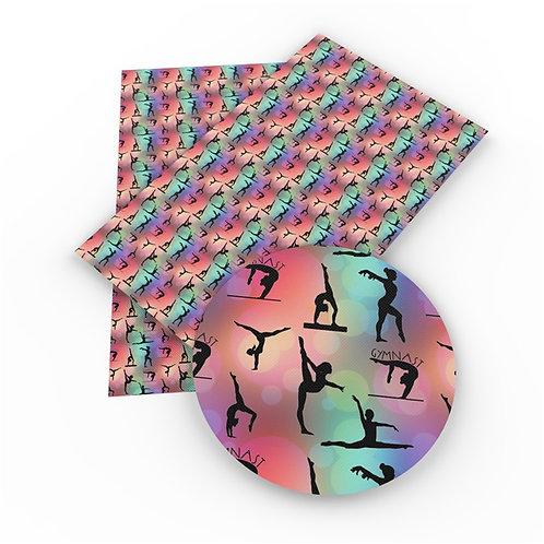 11*27.5 ROLL Gymnast Embroidery Vinyl