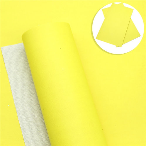 BRIGHT Smooth Yellow Embroidery Vinyl