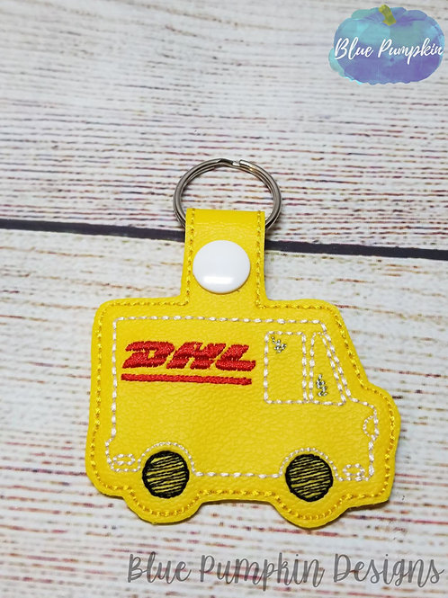 DHL Delivery Truck Key Fob