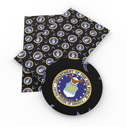 Air Force Printed Embroidery Vinyl