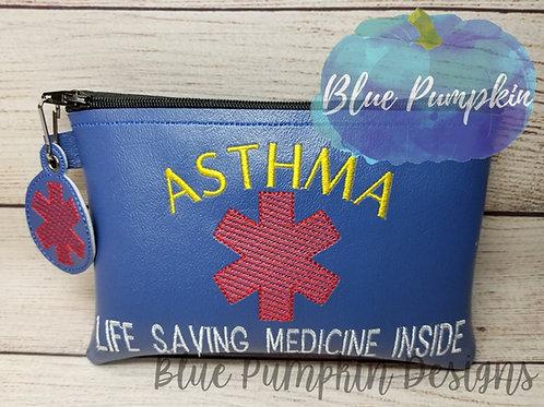 Asthma 5x7 ITH Bag Design