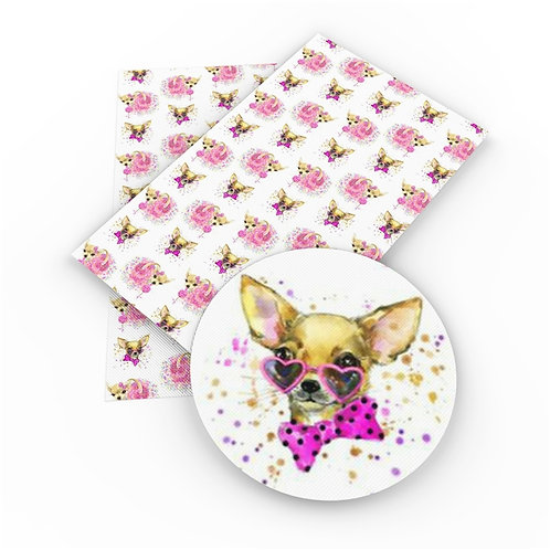 Chihuahua Embroidery Vinyl