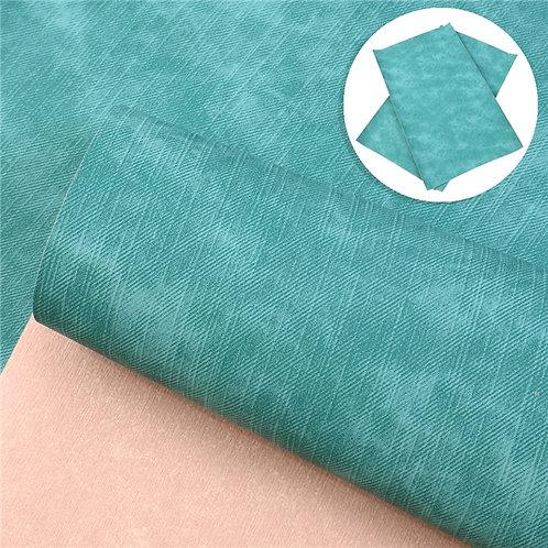 Aqua Cowboy Embroidery Vinyl