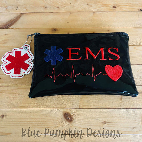 EMS 5x7 ITH Zipper Bag Design