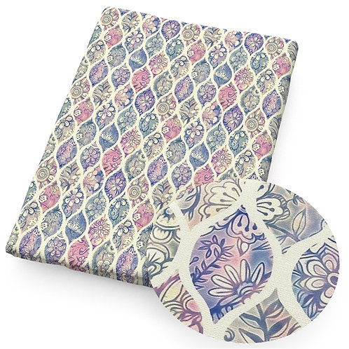 Beautiful Drops with patterns Printed Embroidery Vinyl