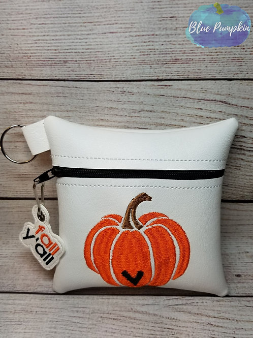 Pumpkin With Heart  ITH Bag Design