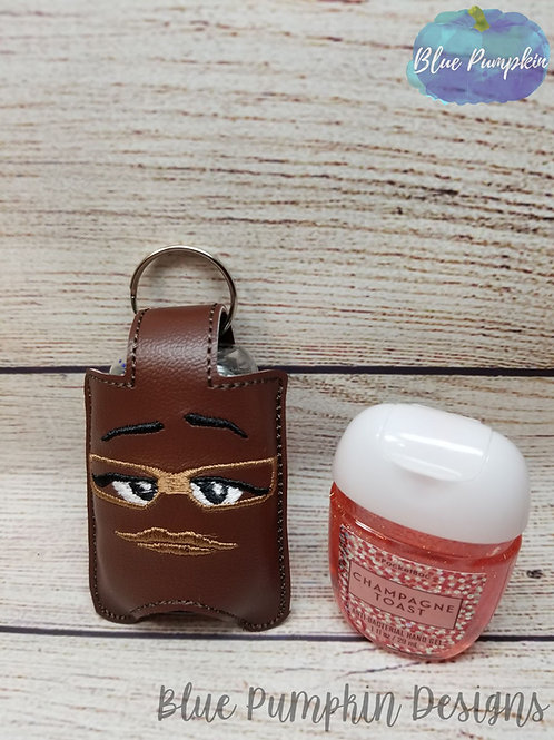 Brown Candy Hand Sani Holder