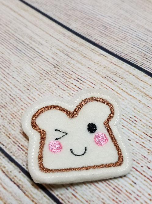 Cute Toast Feltie