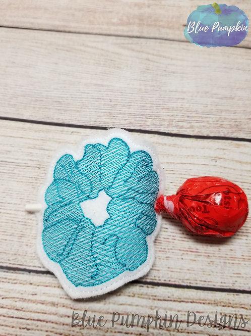 Scrunchie Lollipop/pencil Holder